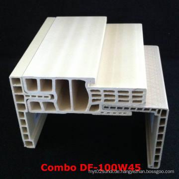 Combo WPC Türrahmen Df-100W45 WPC Architrave at-80h60