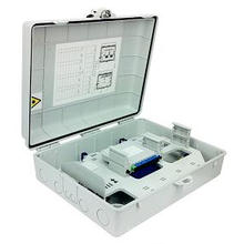 32 Cores FTTH Fiber Distribution Box Outdoor -with Splitter Type