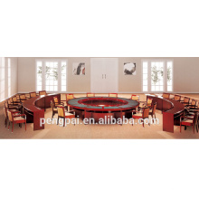 Big luxury office conference table simple round meeting table made in China
