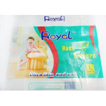 PE Flexible Packaging Bag For Baby Diaper , Colorful Printe