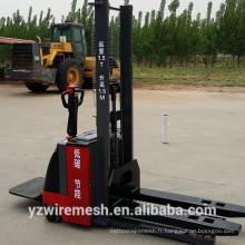 1500kg empileur électrique / petit empileur en chariot élévateur avec moteur à courant alternatif