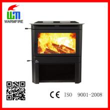 Hot Selling Clássico CE inserir WM201-1300, Metal Madeira queima lareira