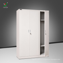 Factory direct Knock down structure locker steel 3 tier locker cabinet