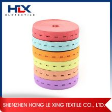 Adjustable Elastic Band with Buttonhole Fastener Tape