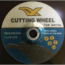 "7"" MPa Certisfied deprimido centro disco abrasivo para Metal"