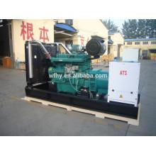 Type de générateur diesel ouvert 200KW / 250KVA