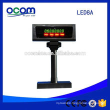 Cheap Supermarket Serial USB POS LED Customer Display Pole From Factory