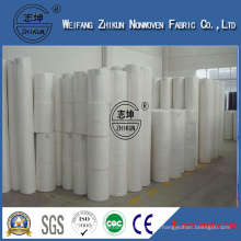 Zhikun White 100% PP Spunbond Nonwoven Fabric for Handbags