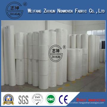 Zhikun White 100% PP Spunbond Nonwoven Fabric for Handbags