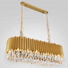 Luxury pendant light LED hanging lights home nordic modern k9 crystal chandelier