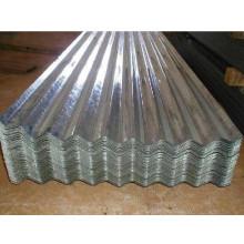 Folha de aço ondulado galvanizado pré-pintado (1.0mm - 1.5mm)