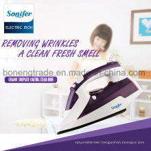 Sf-9001 Travelling Steam Iron Electric Iron with Ceramic Soleplate (Purple)