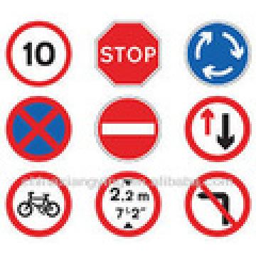 Señales de tráfico y de carretera de alta calidad personalizadas