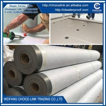 roof material polyester reinforced PVC waterproof sheet