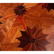 Vente en gros bois de rose naturel parquet 6x6 prix du parquet