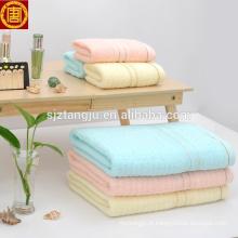 Barato personalizado SPA toalha de banho, toalha de banho do bebê, toalha de banho colorido