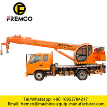 Electric Tyre Mounting Crane 8 Ton