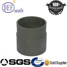 Tubo bronzeado enchido do Semi-Produto da tubulação de PTFE para a matéria prima da máquina do CNC