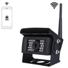 Cámara de respaldo Wifi de visión nocturna IR al aire libre para iPhone iPad Android Tablet teléfono
