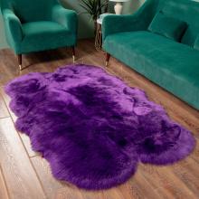 Faux Fur Carpet Customized Bedroom Carpet