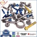 Titanium Alloy Flange Nut & Bolt DIN 6923