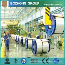 Bobina del acero inoxidable del fabricante (304 / 310S / 316 / 316L / 321 / 904L) para la construcción