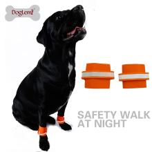 Accessoires pour animaux de compagnie en gros Reflétant la sécurité Pet Dog Wristband