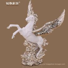 negocio, regalo, fantasía, mágico, habitación, interior, decoración, vuelo, caballo, estatuilla