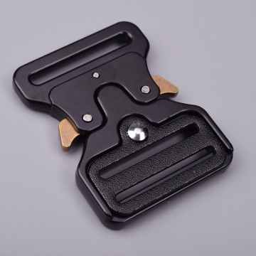 45mm Heavy Duty 300KG Steel Black ElectrophoresisTactical Cobra Belt Buckle For Military