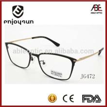 Mejor marca de la promoción de metal gafas ópticas hombres