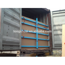 flexitank container for bulk liquid shipping