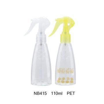 Bouteille en plastique avec pulvérisateur à gâchette pour soins personnels (NB415)