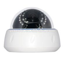 Caméra IP Dôme Plastique 1.0MP 720P pour ascenseur à l'aide d'une lentille Varifocal de 2.8-12mm