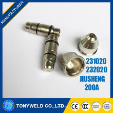 Jiusheng 200A air plasma cutting tips /nozzle