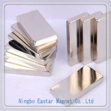 N50 Никелирования NdFeB блок Постоянныймагнит