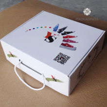 Custom+made+white+shipping+box+with+handle