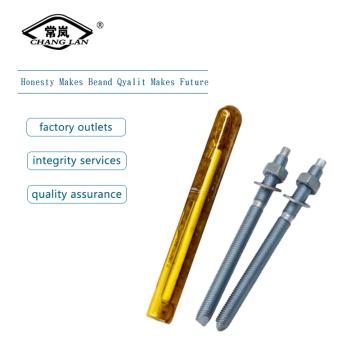 Perno de anclaje químico amarillo cincado M16