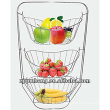 High quality metal fruit basket&Fashionable fruit tray