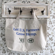 Reusable Wholesale Custom Made Hemp Shopping Bag