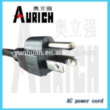 Cable UL inicio de puesta a tierra Cables de alimentación 125V