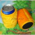 New Design Neoprene Plush Beer Stubby Holder, Stubby Cooler (BC0008)