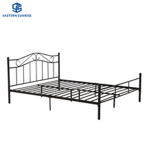 School Camp Home Furniture Hospital Sleeper Steel Single Bed Frame