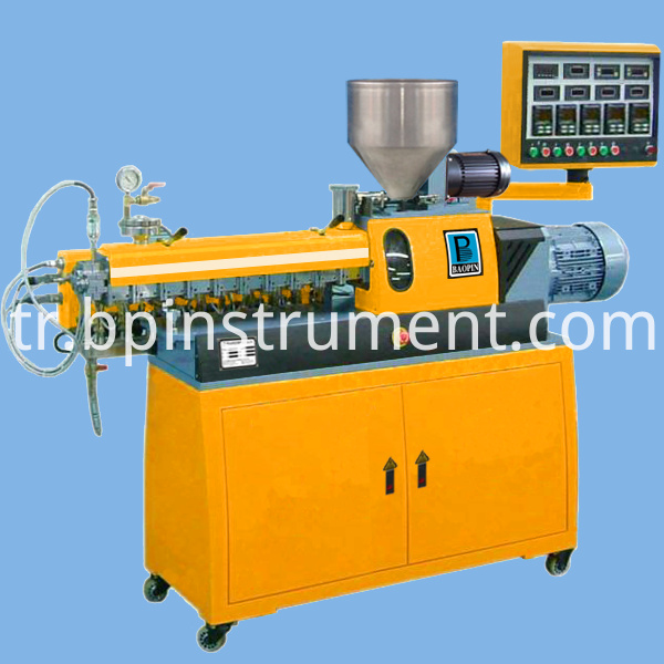 Twin Screw Extruder Equipment Control