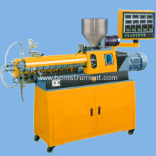 Twin screw extruder / Equipment control