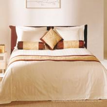 100% полиэфир Простыня/хлопок кровать Комплект для дома/гостиницы