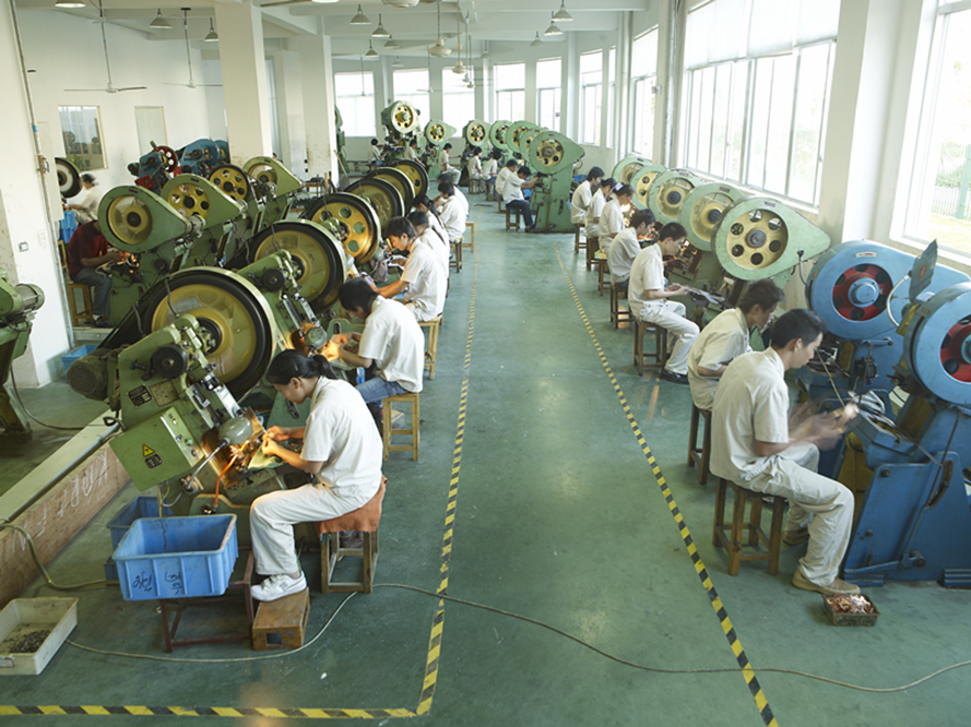 Workers In Workshop