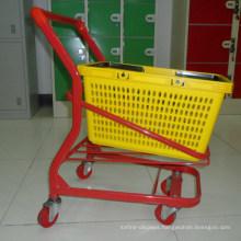 Supermarket Metal Kids Hand Shopping Cart