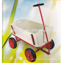 kids wooden toy cart