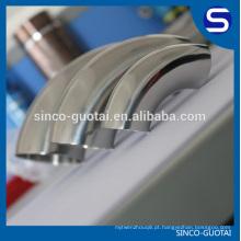 Cotovelo sanitário de aço inoxidável padrão de BPE para o alimento / médico