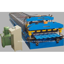 for Sale Gable Roof Steel Car Garage Roll Forming Machine